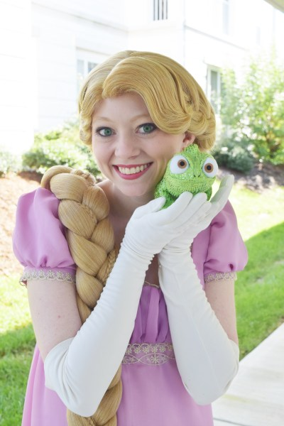 Regency Rapunzel Cosplay