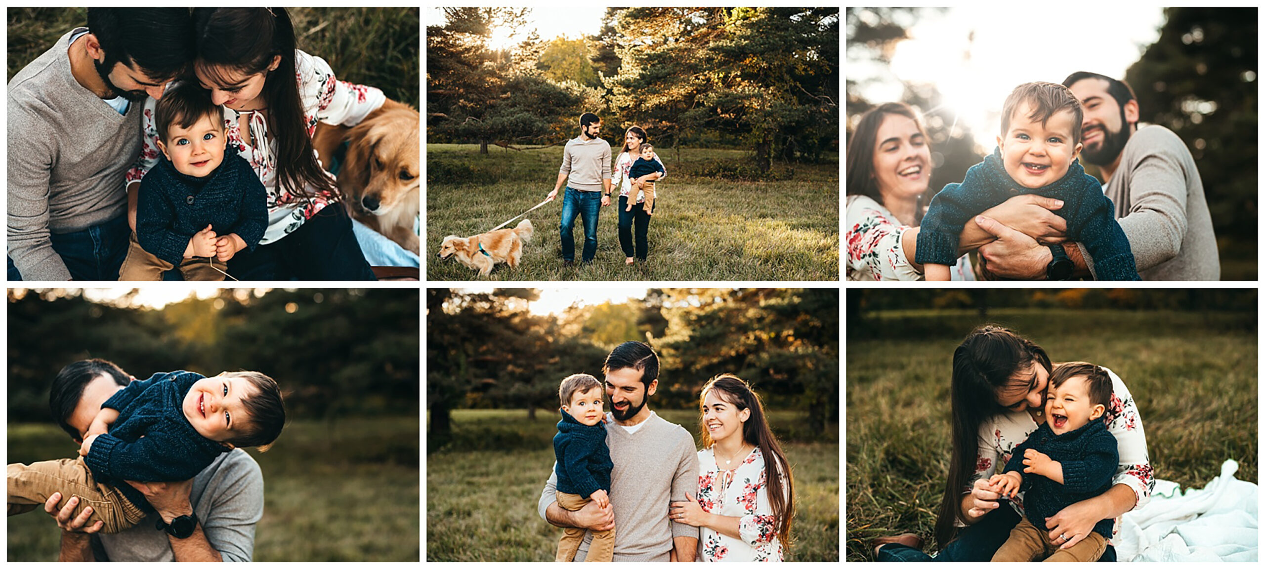 family session in fall