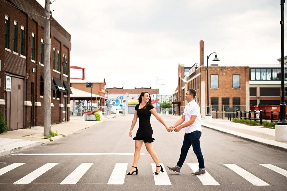 Detroit Engagement Session