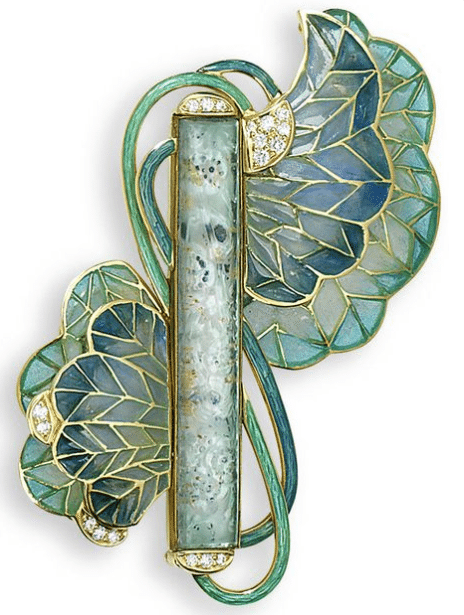 Art Nouveau Brooch Photo Credit: Pinterest