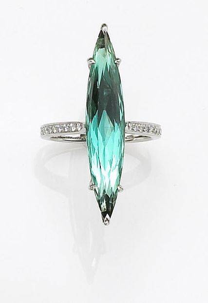 Marquise Tourmaline Ring