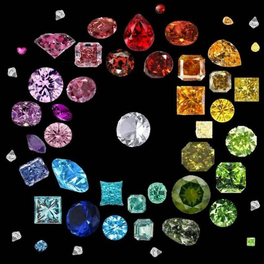 Colored Diamonds Come In All Colors Of The Rainbow