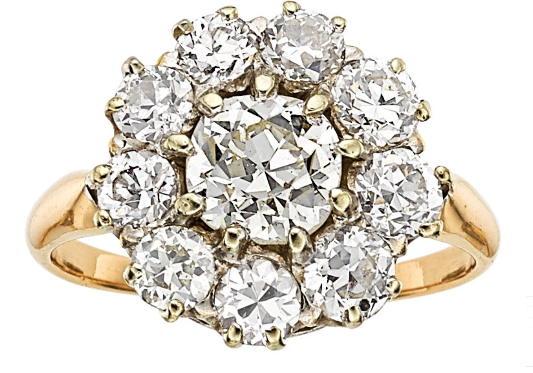 pave deco and diamond ring cut with gold engagement full princess center jewelry white rose cushion product halo side wg lrg ntmz gallery diamonds inspired art