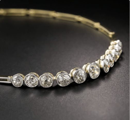 Antique Diamond Line Bracelet Jewelry