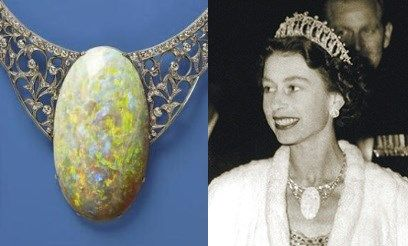 The Andamooka Opal Necklace,