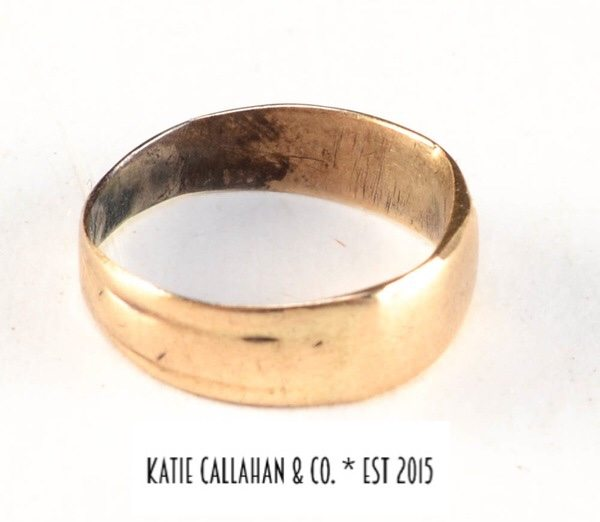 Victorian 14kt Yellow Gold Baby/Midi Ring