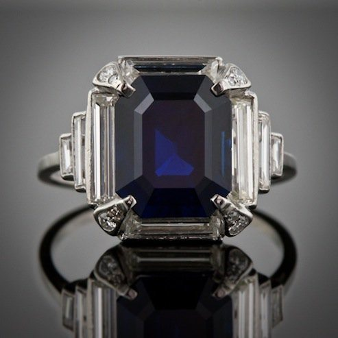 A History of Engagement Rings Vol. 6: The 1930's