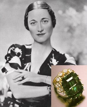 A History of Engagement Rings Vol. 6: The 1930's - Wallace Simpson