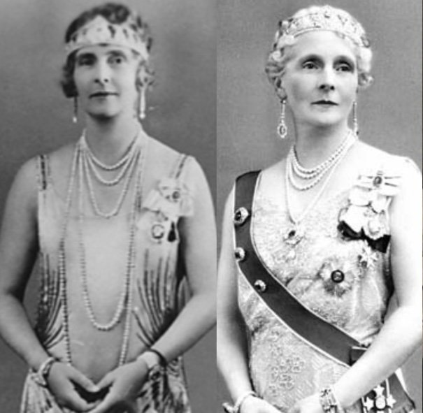 Royal British Tiaras: Princess Alice's Diamond Palmette Tiara