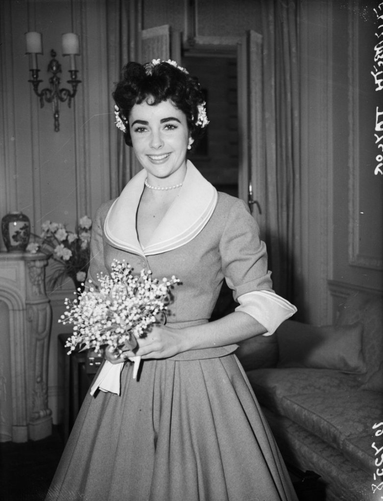 Wedding Wednesday: Elizabeth Taylor and Michael Wilding