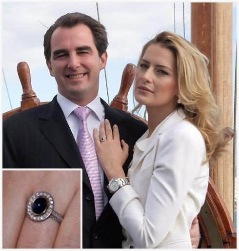 Royal Engagement Rings: Princess Tatiana Blatnik of Greece