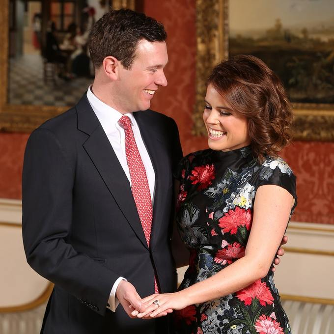 Wedding Wednesday: Princess Eugenie and Jack Brooksbank