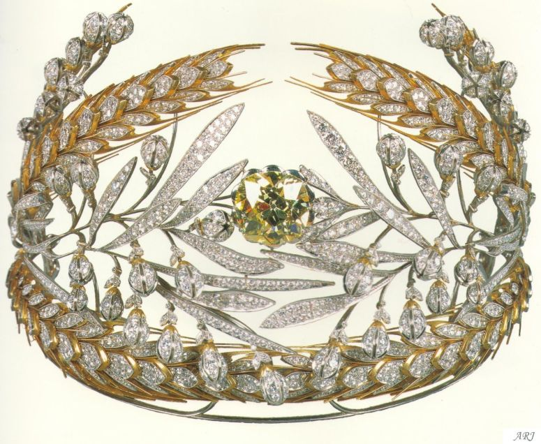 Royal Russian Tiaras: The Russian Field Diadem