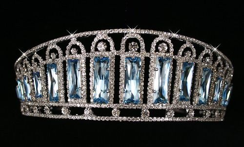 The Russian Aquamarine Kokoshnik Tiara