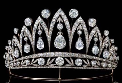 Royal French Tiaras: The Leuchtenberg Fabergé Tiara