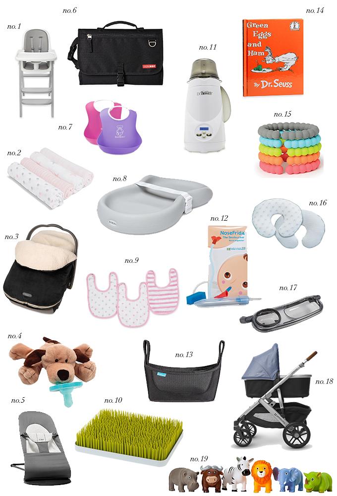 My List of Baby Registry Essentials | KatieCassman com