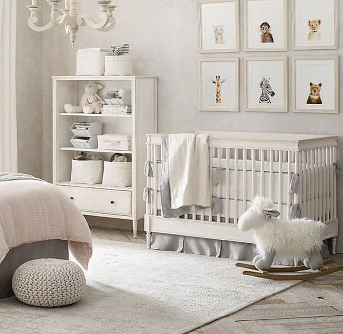 baby girl nursery decor Baby Girl Nursery Decor Inspiration | KatieCassman.com baby girl nursery decor