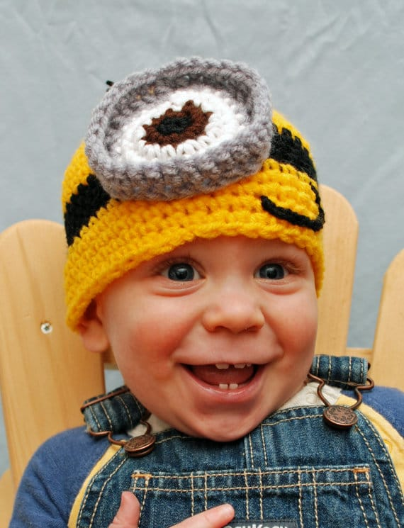 Infant Minion Hat by Hatt Street on Katie Crafts