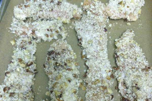 Maple Pecan Walnut Chicken Recipe by Katie Crafts; https://www.katiecrafts.com