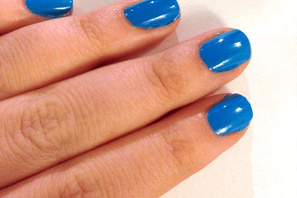 Nail Art: Feelin' Blue by Katie Crafts; https://www.katiecrafts.com