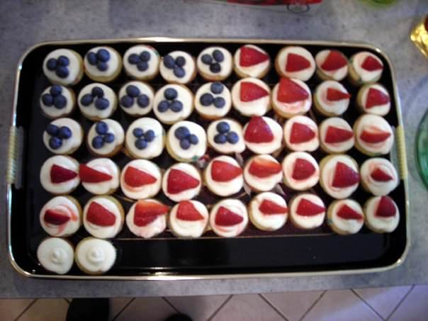 Jam Filled Cupcakes with Lemon Cream Cheese Frosting Recipe on Katie Crafts; http://www.katiecrafts.com