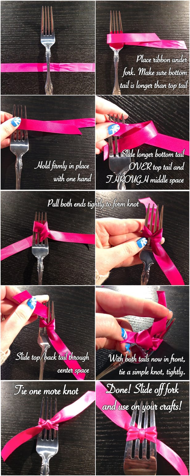 How To Make The Perfect Bow (3 Ways!) on Katie Crafts; http://www.katiecrafts.com
