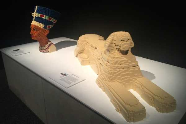 The Art of Brick at The Franklin Institute Recap by Katie Crafts; https://www.katiecrafts.com