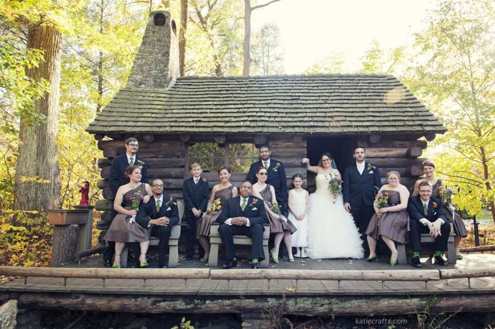 A Special Look at my Fall Wedding... on Katie Crafts; http://www.katiecrafts.com