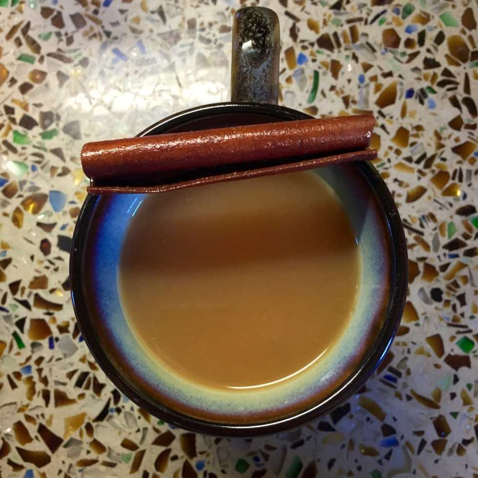 Hot Spiced Cider Recipe...With Rum! on Katie Crafts; http://www.katiecrafts.com