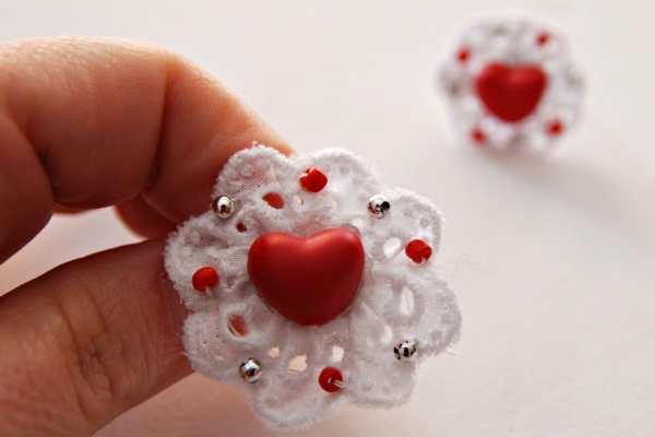 Valentine's Day Rosette Ring Tutorial by Me and Mama Creations