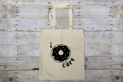 I Donut Care Market Tote Bag