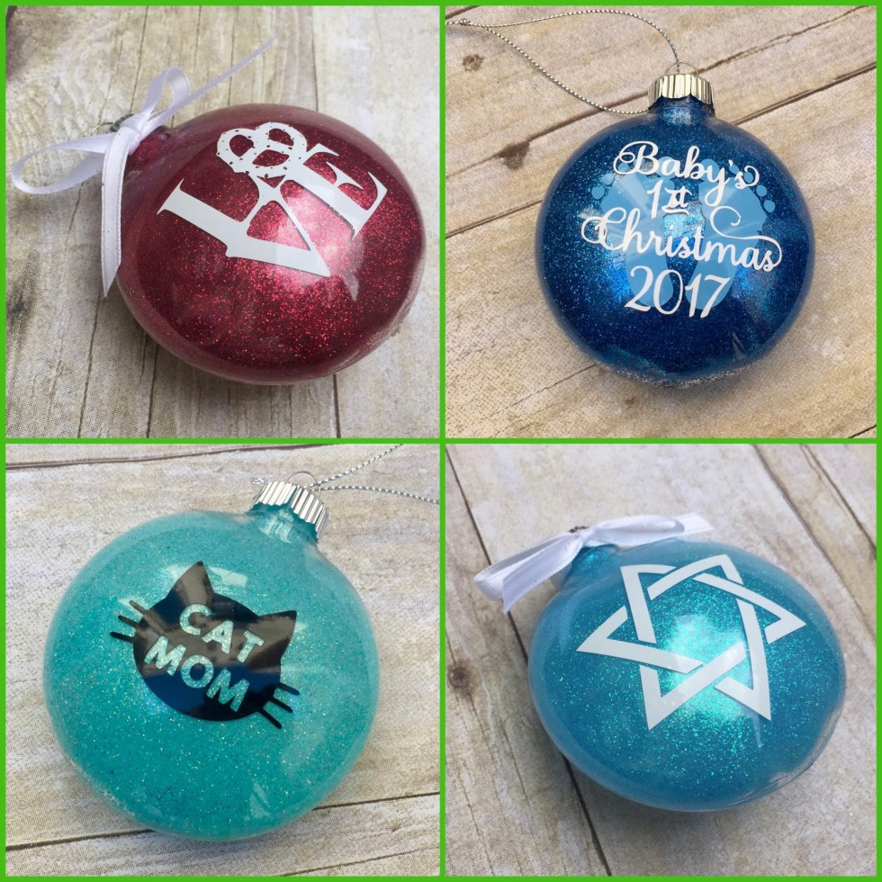 Sample of Ornaments For Sale on Katie Crafts; https://katiecrafts.com