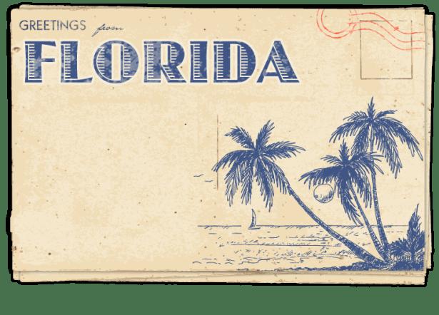 Postcard – Florida