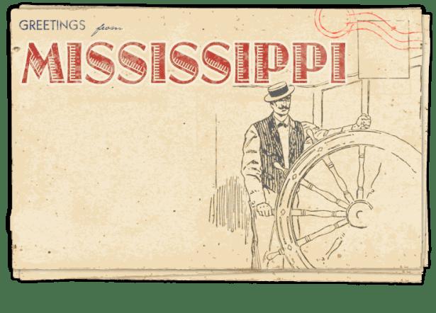 Postcard – Mississippi
