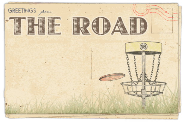 Postcard – Disc golf