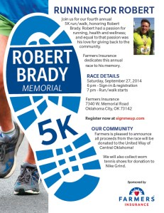 Robert Brady 2014 flyer