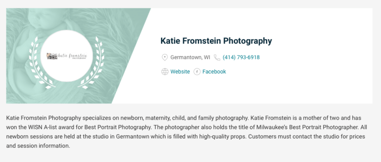 Milwaukee's Best Newborn Photographer