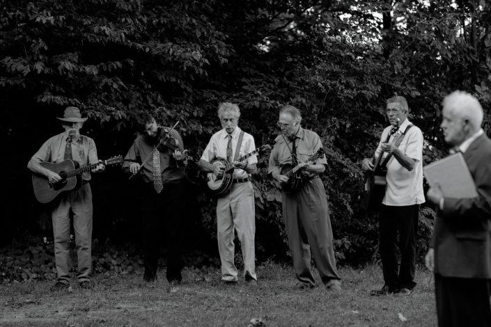 vermont bluegrass wedding band
