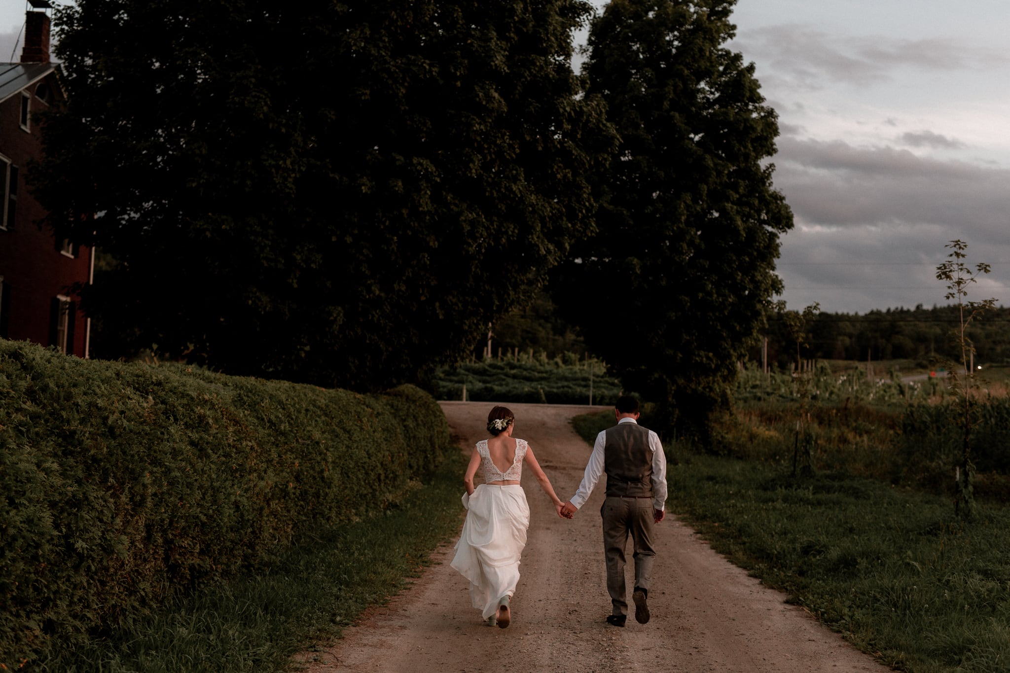 Wedding at Boyden Valley Winery Cambridge Vermont - Katie Jean Photography