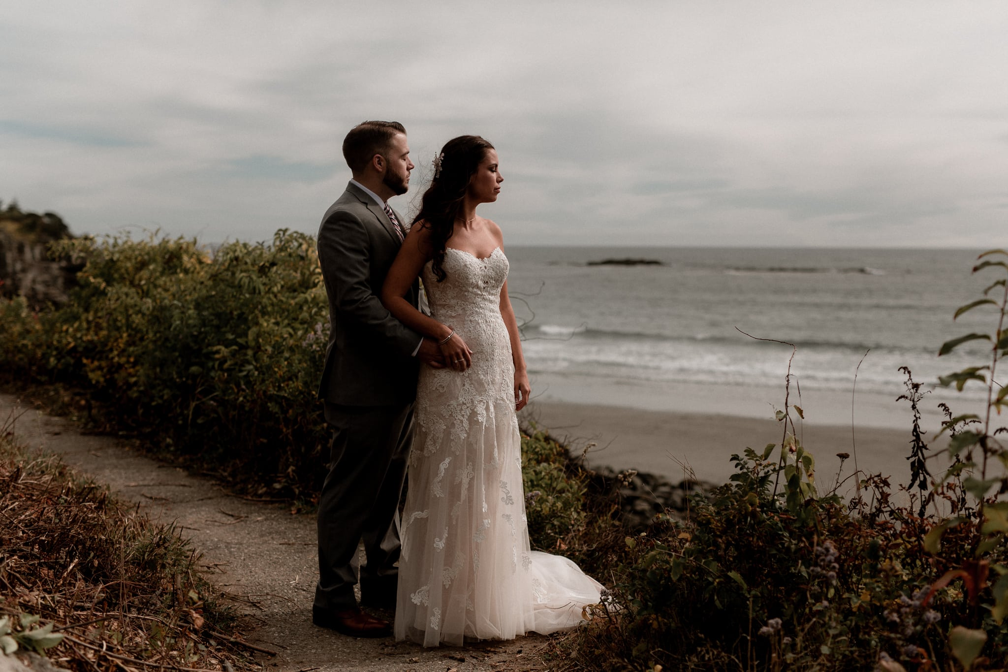 Intimate Wedding York Maine - Katie Jean Photography