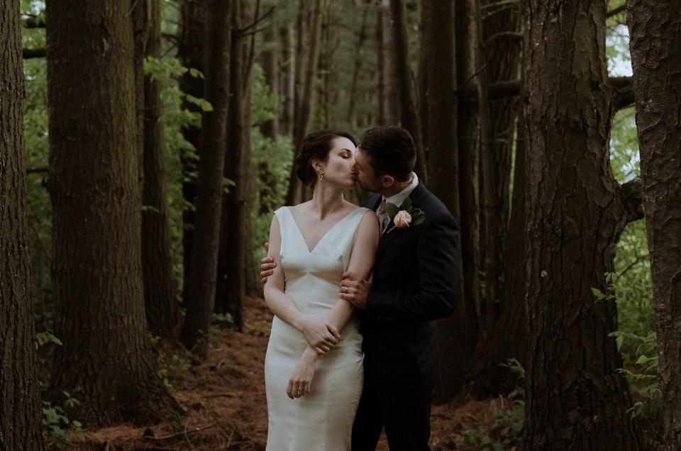 Vinca and Dustin // Backyard Vermont Wedding
