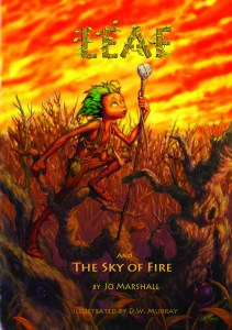 Twig Stories ~ Leaf & the Sky of Fire ~ front cover