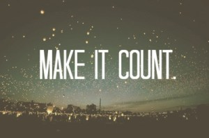 Make-it-count