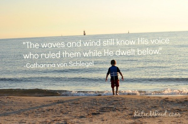 Be Still Waves Image by Katie M Reid