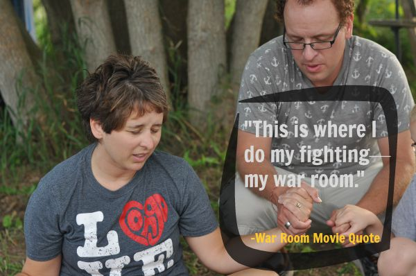 Quote from War Room Movie image by Katie M Reid