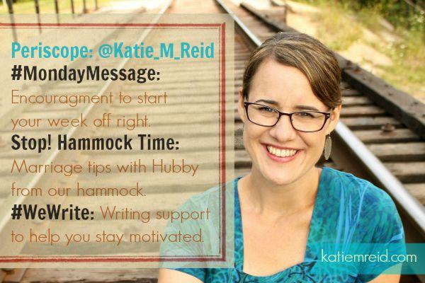 Katie M. Reid on Periscope