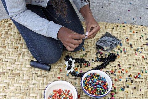 Artisan in Ecuador via Fashion and Compassion