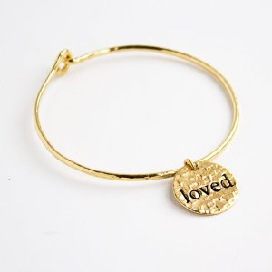 Love Dangle Bangle via Fashion and Compassion