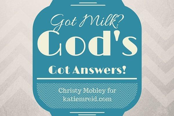God's Got Answers image Christy Mobley