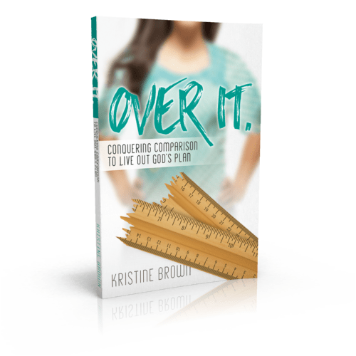 Over It book by Kristine Brown